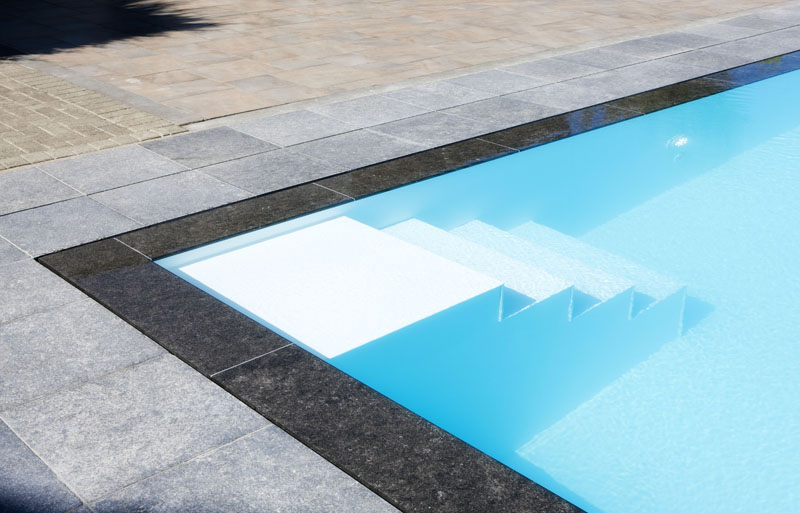 Flexline zwembadtrap